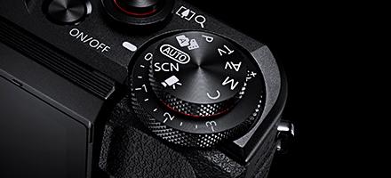 PowerShot G7 X MarkⅡ モードダイヤル