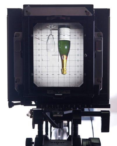 ビューカメラのファインダー